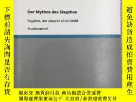二手書博民逛書店Der罕見Mythos des SisyphosY19139 S