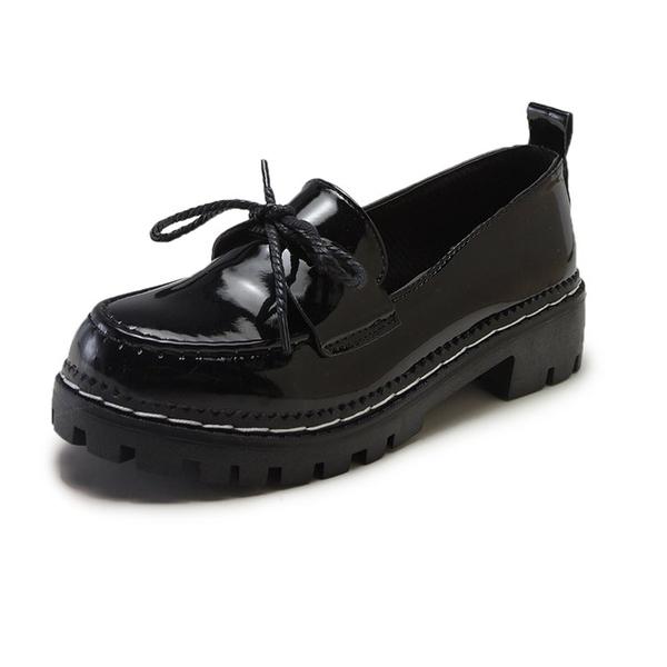 學生少女jk鞋可愛小皮鞋女小黑鞋2020夏季涼鞋日系軟妹洛麗塔蝴蝶