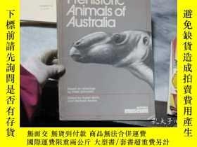 二手書博民逛書店Prehistoric罕見Animals of Australi