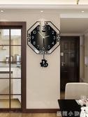 掛鐘中國風鐘表客廳家用個性創意中式時尚大氣掛表現代簡約時鐘 NMS蘿莉小腳丫