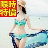 泳衣(兩件式)-比基尼-音樂祭泡湯玩水必備泳裝走秀款火辣2色54g68【時尚巴黎】