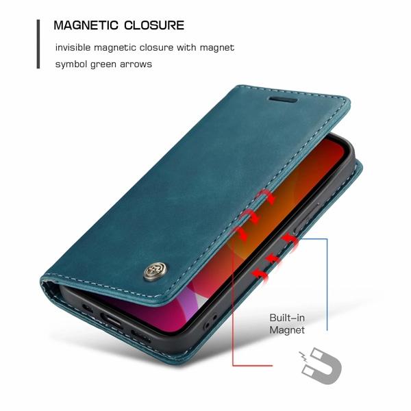 蘋果 iPhone12 Pro Max 12Pro 12Mini CM銅釦013 手機皮套 掀蓋殼 插卡 支架 磁吸 保護套 可掛繩