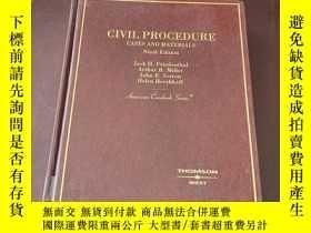 二手書博民逛書店Civil罕見Procedure Cases and Mater