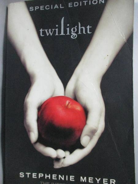 【書寶二手書T9/翻譯小說_HEL】Twilight_Stephenie Meyer
