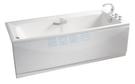 【麗室衛浴】BATHTUB WORLD 長型壓克力浴缸 LS-7173E 帶牆 170*73*55cm