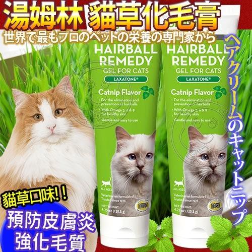 【培菓平價寵物網】 法國Tomlyn湯姆林》貓用化毛膏貓草口味4.25oz120g/支