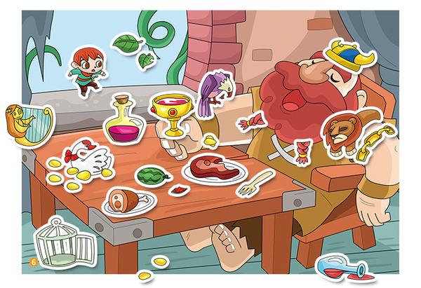 【球球館】世界經典童話貼紙:白雪公主+灰姑娘
