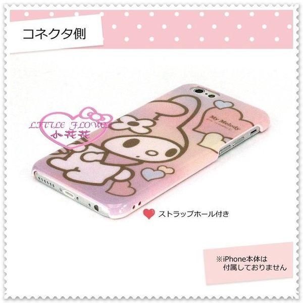 小花花日本精品♥ Hello Kitty 美樂蒂 iPhone 6 4.7吋手機殼保護殼保護套 愛心00120302