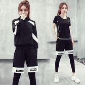 聖誕感恩季 韓國晨跑步健身房運動套裝女專業瑜伽健身服
