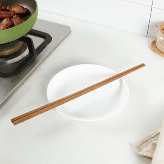 ♚MY COLOR♚多用途加長木筷子 38cm 超長 撈麵筷 廚房 木筷 家用 餐具 油炸筷 日式【N434】