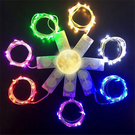 銅線燈,電池線燈,一米10燈(銅線/銀線隨機發)(包含電池)