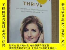 二手書博民逛書店THRIVE:the罕見third metric to rede