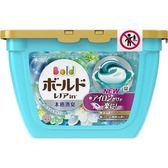 2019最新版 日本P&G白金洗衣3D威力球盒裝(柔軟精添加型/粉藍色/18入)347g