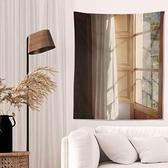 文藝復古宿舍裝飾豎版牆布臥室客廳床頭掛布背景布ins風北歐掛毯 青木鋪子「快速出貨」