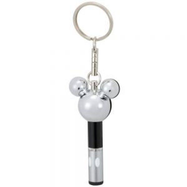 車之嚴選 cars_go 汽車用品【WD-183】日本 NAPOLEX Disney 米奇頭型除靜電鑰匙圈