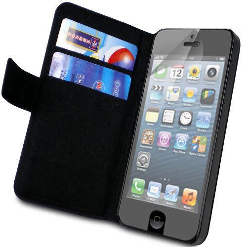 ★皮套達人★  Apple iPhone 5 筆記本支架造型皮套+ 螢幕保護貼 (郵寄免運)