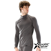 Polarstar 彈性保暖排汗套頭衫『炭灰』P16233 休閒│登山│露營│機能衣│刷毛衣│保暖衣│POLARTEC