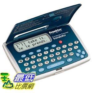 [103美國直購]  佛蘭克林電子5歐洲翻譯語言 Franklin Electronics 5 Language European Translator $1416