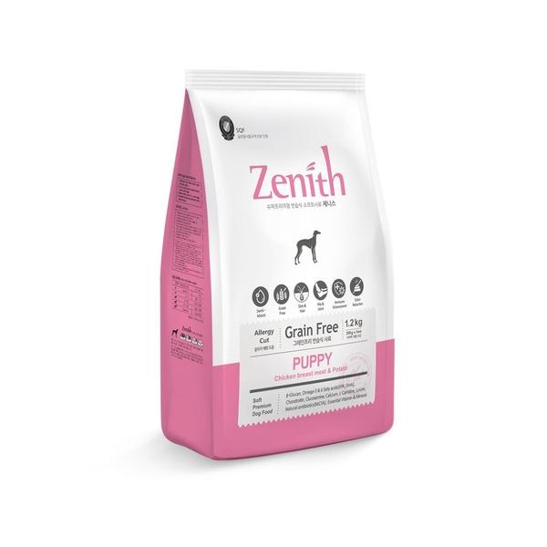 寵物家族-Zenith先利時 低敏幼母犬軟飼料1.2kg