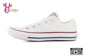 All STAR★Converse帆布鞋 成人女款 基本款低筒帆布鞋 G9831#白色◆OSOME奧森鞋業