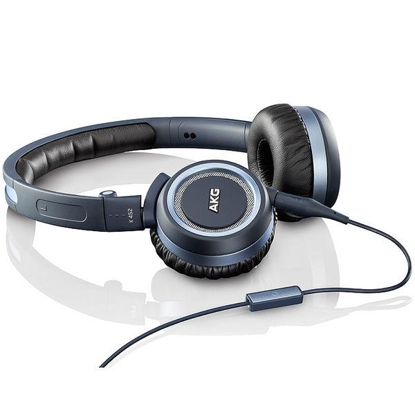 經典數位~ AKG摺疊通話耳機 AKG Mini耳罩Android系列耳機K452 藍色/白色 兩色可選