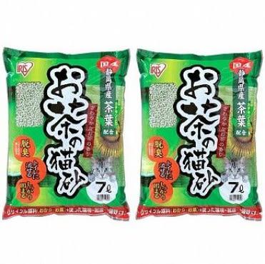 IRIS 日本 靜岡綠茶豆腐貓砂(OCN-70N) 7L X 2包