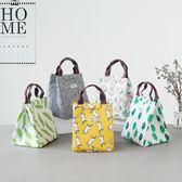 (交換禮物 創意)聖誕- 韓國飯盒袋保溫袋便當袋手提包帶飯的袋手拎袋帆布袋學生拎袋午餐