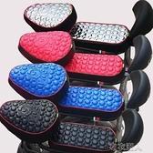 電動車坐墊套自行車摩托車座套防水防曬電瓶車坐墊通用座套 【快速出貨】