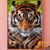 數字油彩畫diy油畫手繪工填色兒童臥室裝飾畫卡通動物【輕奢時代】