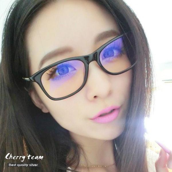金屬鍊條編織造型眼鏡 1307【櫻桃飾品】【1307】
