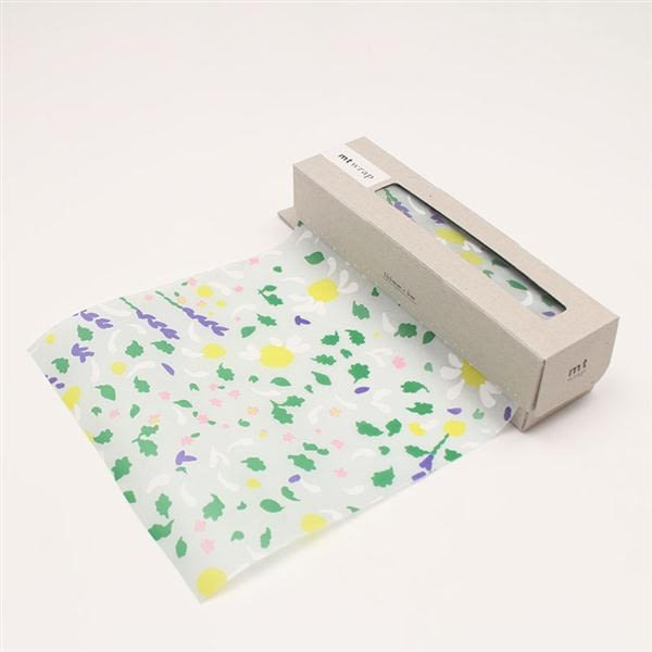 mt WRAP(迷你尺寸) mina perhonen pleasure herb mt和紙自黏包裝紙【KAMOI mt】..