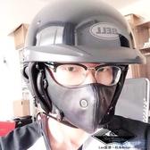 機車面罩 雷摩機車摩托車復古面罩保暖防風塵個性皮革口罩騎士騎行裝備男女 HD