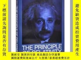 二手書博民逛書店相對論原理罕見英文原版 The Principle of Rel
