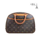 【巴黎站二手名牌專賣店】*現貨*LV 路易威登 真品*M42228 經典花紋手提小珍包