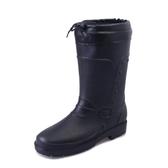 棉水鞋雨鞋男春秋水靴雨靴中筒男士膠鞋時尚成人套鞋防水鞋韓版新