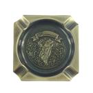 【收藏天地】台灣紀念品*台灣方形金色飾盤磁鐵