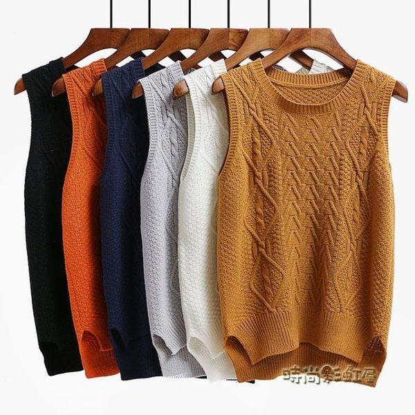 秋冬季毛衣背心