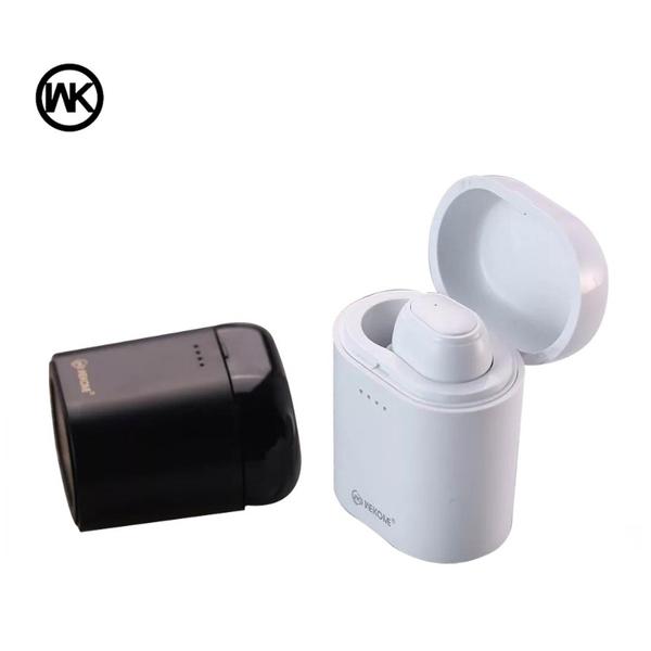WK P6 帶倉式單邊藍芽耳機 商務 運動 藍芽耳機 單邊耳機 (含充電倉) 台灣正版公司貨