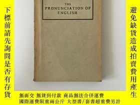 二手書博民逛書店The罕見Pronunciation of English 英語發音學Y27117 DANIEL JONES