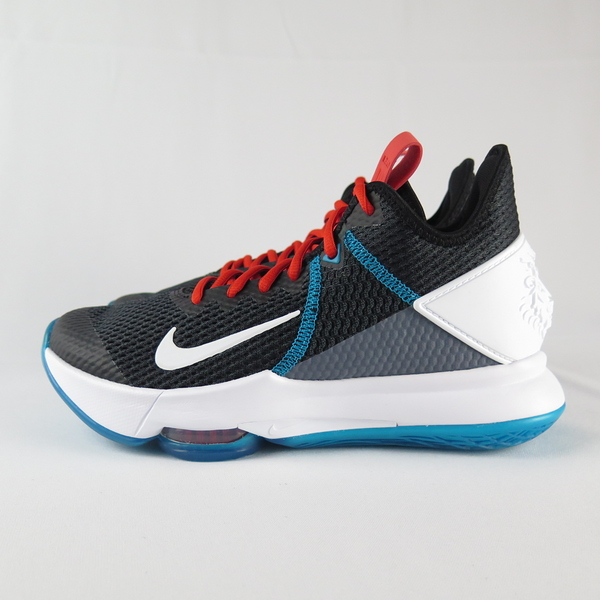 NIKE LEBRON WITNESS IV EP 男款 籃球鞋 CD0188005 白X黑X藍【iSport】