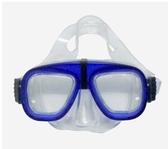 YUE 台灣 兒童潛水面鏡 PVC 顏色隨機 浮潛 蛙鏡 溯溪 呼吸管【易遨遊】