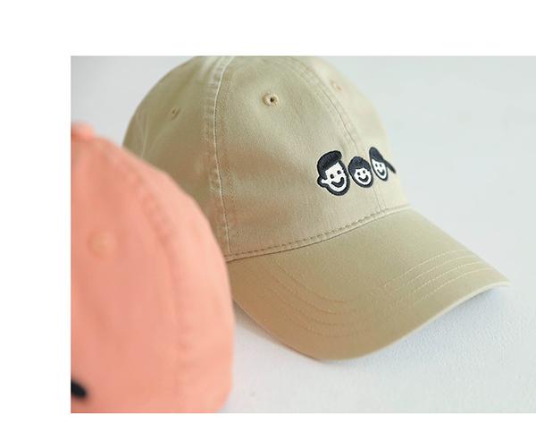 papa爬爬夏季兒童帽子男女寶寶遮陽防曬帽親子繫列嬰兒棒球帽 阿卡娜