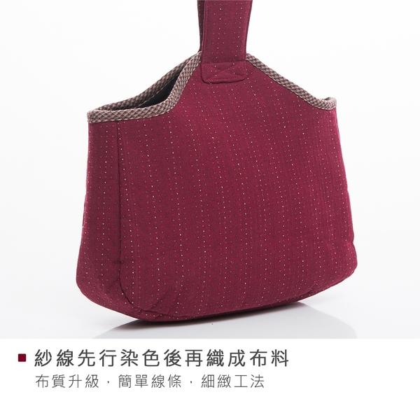 Kiro貓‧先染布 手提包/手拎包/輕便包/拼布包【270039-1】
