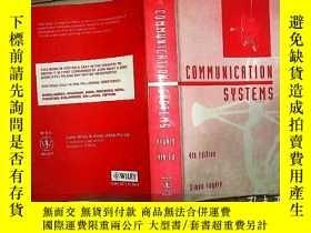 二手書博民逛書店COMMUNICATION罕見SYSTEMS 16開本Y1808