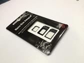 【世明國際】還原卡套 轉接卡托 Micro SIM Nano Sim卡套 還原卡套 三片裝+取卡針 小卡轉大卡 轉卡