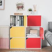 書櫃 收納櫃 屏風 置物櫃 收納【N0077】漾采粉嫩三格門櫃 完美主義