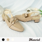 跟鞋 時尚金屬後空跟鞋 MA女鞋 T72202