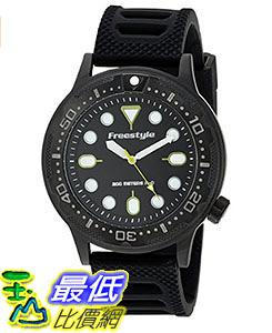 [106美國直購] Freestyle 手錶 Men s 10024397 B00TYE9AQ8 Ballistic Diver Analog Display Japanese Quartz Black Watch
