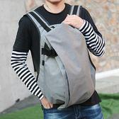韓版潮英倫個性簡約創意雙肩包LJ1901『夢幻家居』