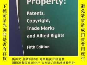 二手書博民逛書店16開英文原版罕見Intellectual property p